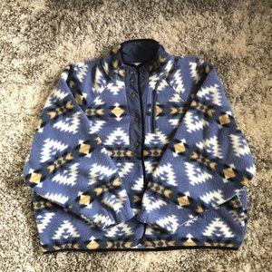 Oversized button up jacket